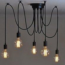 Hanging Edison 2 Meters Adjustable Ceiling Lamp