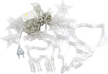 Hanging Fairy 138 LEDs String Lights Curtain Lamp