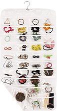 Hanging Jewellery Organiser Double-Sided 80