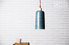 Hanging lamp Blue Terry