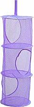 Hanging Mesh Storage Basket, Foldable Space Saving
