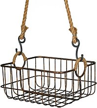 Hanging Metal/Wire Basket Brambly Cottage