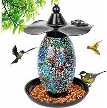 Hanging solar feeder - Garden lantern - Bird house