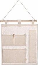 Hanging Storage Bag Closet Hairpins Bedroom with