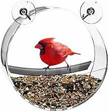 Hanging Window Bird Feeder, Wild Outdoor Window