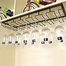 Hanging Wine Glass Rack, Under Cabinet Stemware