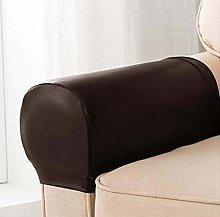 HANHAN 2 Set PU Leather Waterproof Armrest Covers