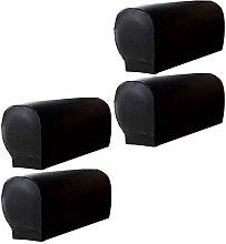 HANHAN Armchair Armrest Cover PU Leather