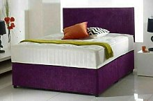 Haniya Plush Divan Bed With Memory Sprung