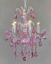 Hanley 5-Light Crystal Chandelier Rosdorf Park
