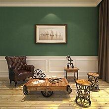 HANMERO Vintage Country Style Green Nonwoven