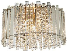 Hanna Steel Ceiling Lamp