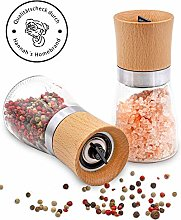 Hannah's Homebrand® Salt and Pepper Mill with