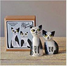 Hannah Turner - Black White Cat Salt And Pepper
