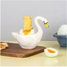 Hannah Turner - Hand Made Ceramic Swan Egg Cup