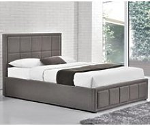 Hannover Grey Fabric Bed Frame - 4ft6 Double