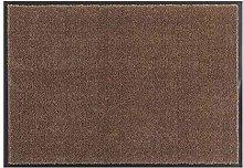 Hanse Home Doormat, Polyamide, Brown, 39x58 cm