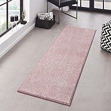 Hanse Home Pure Rug, Polypropylene, Pink, 80 x 200