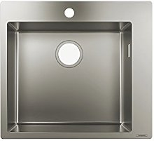 hansgrohe S711-F450 Built-In Sink 450, stainless