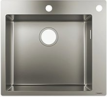 hansgrohe S712-F450 Built-In Sink 450, stainless