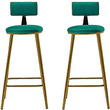 HAO KEAI Bar Stools set of 2 Bar Stool Backless