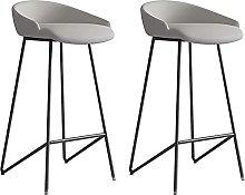 HAO KEAI Bar Stools set of 2 Set Of 2 Barstools