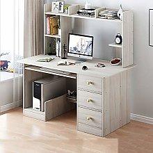 HAOCHI 47 Inch Computer Desk With Hutch And