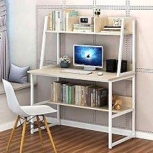HAOCHI Computer Desk With Hutch And