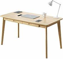 HAOCHI Wooden Modern Computer Desk,With Drawer Pc
