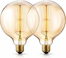 HAODEE E27 Edison Light Bulb Vintage Light Bulbs