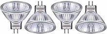 HAODEE Halogen Bulbs MR11 12V 20W 35W 50W Warm