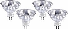 HAODEE Halogen Bulbs MR16 12V 20W Tungsten Halogen
