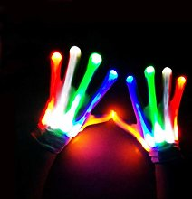 HAODEE MultiColour Flashing Gloves LED Gloves