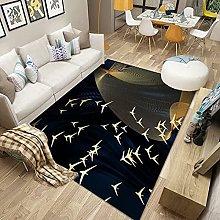 HAODELE Carpet 200x200cm Velvet Shag Rug Decor