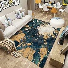 HAODELE Carpet 80x80cm Easy Clean Fluffy Rug Easy