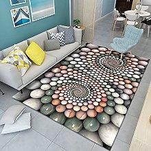 HAODELE Rug 140x180cm Cozy Shaggy lambskin carpet