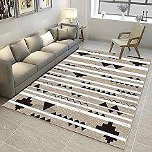 HAODELE Rug 90x200cm Cozy Shaggy Skid Yoga Carpet