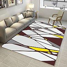 HAODELE rugs living room 80x80cm Easy Clean Grey