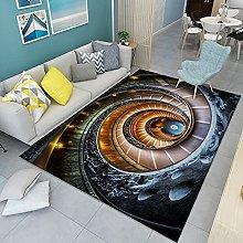 HAODELE Sofa mat 160x220cm Velvet Shag Grey Rug