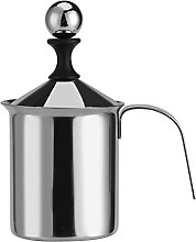 Haofy Manual Milk Frother 400ml/800ml Stainless