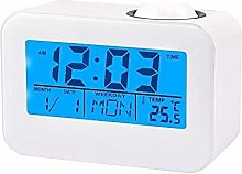Haofy Projection Alarm Clock, LCD Display Wall