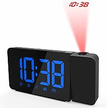 HAOHAO FM alarm clock with projection, ceiling