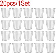 Haojiajia Clear Plastic Disposable Party Shot