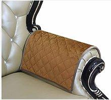 Haomaijia Khaki Nonslip Leather Loveseat Couch