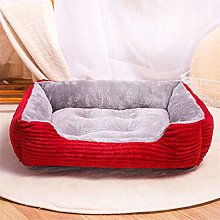 Haoooancww Large Dog Bed Orthogonal Dog Bed
