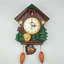 Haoqiongh wall clock House Shape 8 Inches Wall