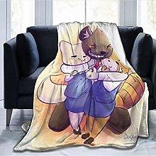 haoshuang nursery living room blanket warm sofa
