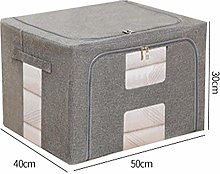 HAOXIANG Clothes Storage Boxes With Lids,