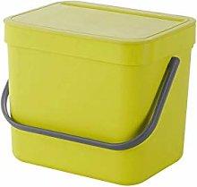 HAOXIANG Kitchen Compost Bin, Wall-Mounted Light