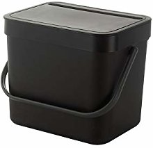 HAOXIANG Kitchen Compost Bin, Wall-Mounted Light